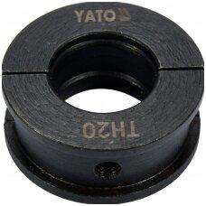 Indėklas / matrica TH20 Presavimo replėms YT-21750