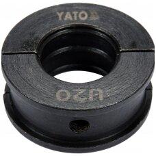 Indėklas / matrica U20 Presavimo replėms YT-21750