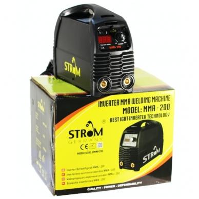 Inverterinis suvirinimo aparatas STROM MMA 200A 2
