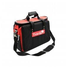 Įrankių krepšys su 17 kišenių