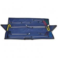 Įrankių rinkinys kėbulo įdubų, įlenkimų šalinimui be dažymo, 8 vnt.