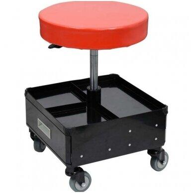 Įrankių kėdutė su 3 stalčiais YATO 2