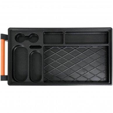 Įrankių spintelė ant ratukų, 6 stalčiai, 1 šoninės durys (tuščia) STHOR 3