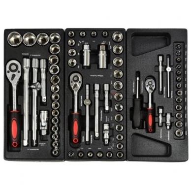 Įrankių spintelė su įrankiais 185 vnt. 5