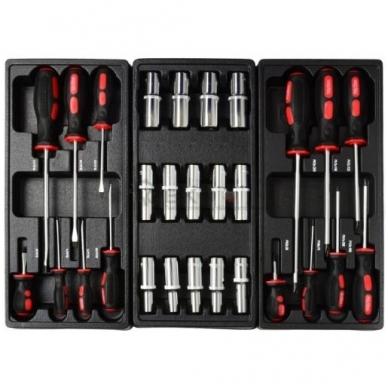 Įrankių spintelė su įrankiais 185 vnt. 6