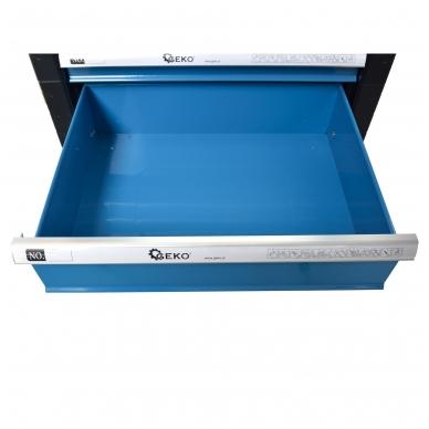 Įrankių spintelė su įrankiais 245vnt. 6 stalčiai 12