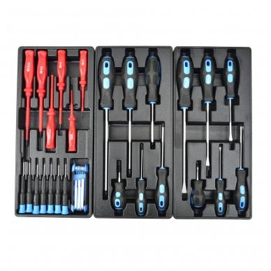 Įrankių spintelė su įrankiais 245vnt. 6 stalčiai 5