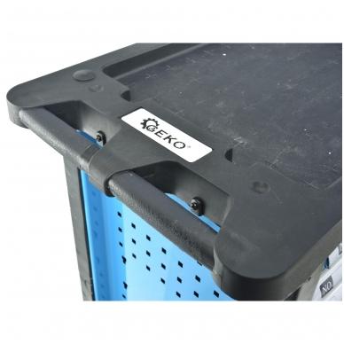Įrankių spintelė su įrankiais 245vnt. 6 stalčiai 8