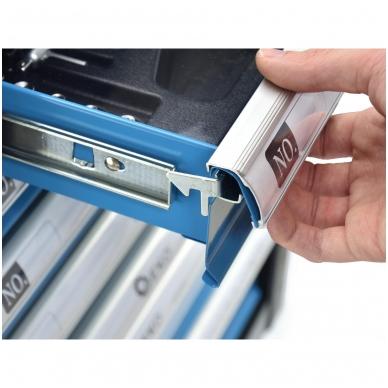 Įrankių spintelė su įrankiais 245vnt. 6 stalčiai 7