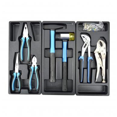 Įrankių spintelė su įrankiais 245vnt. 6 stalčiai 2