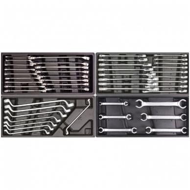 Įrankių spintelė ant ratuku su įrankiais 583vnt. 3