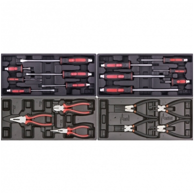 Įrankių spintelė ant ratuku su įrankiais 583vnt. 5