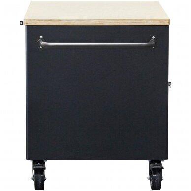 Įrankių vežimėlis 2x5 stalčiai + 1 spintelė (tuščia) BGS 4