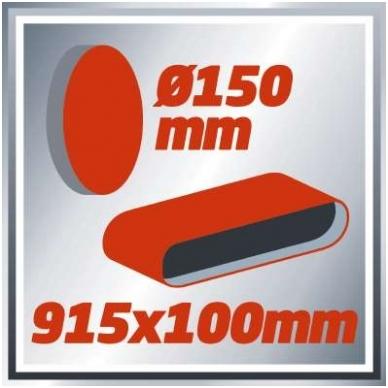 Juostinis šlifuoklis Einhell TC-US 400 6