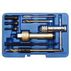 Kaitinimo žvakių šalinimo įrankių rinkinys M9 9 vnt.