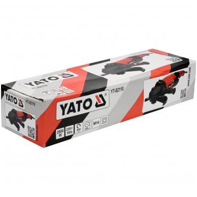 Kampinis šlifuoklis 2800W 230mm YATO 3
