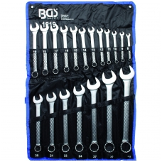 "Kombinuotų raktų komplektas 19 vnt, 8-32 mm, ""Bgs-technic"""