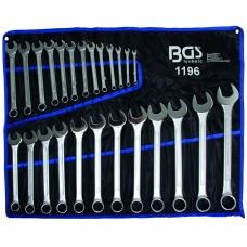 """Kombinuotų raktų rinkinys 25 vnt, 6-32 mm, DIN 3113 Cr-V, """"Bgs-technic"""""""