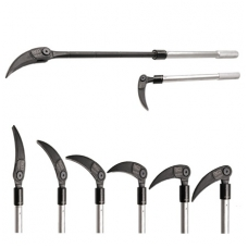 Laužtuvas su šarnyrine fiksuojama galvute 450-760 mm