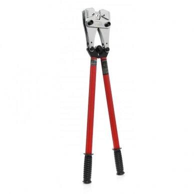 Laidų ir kabelių presas 35-120mm² Kraft&Dele 3