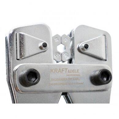 Laidų ir kabelių presas 35-120mm² Kraft&Dele 7