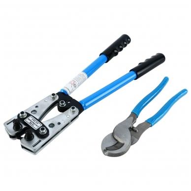 Laidų presavimo ir žirklių kabeliui komplektas (6-50mm²) 2