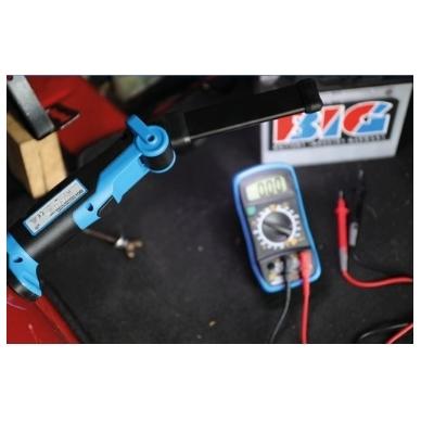 Lanksti akumuliatorinė darbo lempa 5W COB LED BGS Technic 3