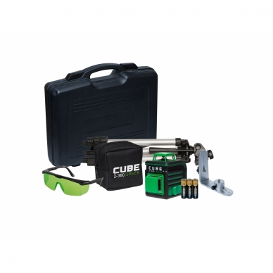 Lazerinis nivelyras ADA CUBE 2-360 Green ULTIMATE EDITION 2