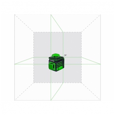 Lazerinis nivelyras ADA CUBE 2-360 Green ULTIMATE EDITION 4