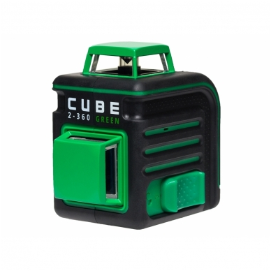Lazerinis nivelyras ADA CUBE 2-360 Green ULTIMATE EDITION