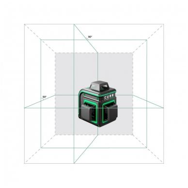 Lazerinis nivelyras ADA CUBE 3-360 GREEN Ultimate Edition (žalios linijos) 2