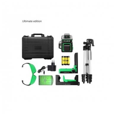 Lazerinis nivelyras ADA CUBE 3-360 GREEN Ultimate Edition (žalios linijos) 15