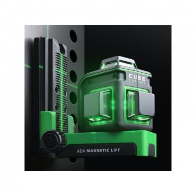 Lazerinis nivelyras ADA CUBE 3-360 GREEN Ultimate Edition (žalios linijos) 13