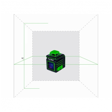 Lazerinis nivelyras ADA CUBE 360 Green ULTIMATE EDITION 3