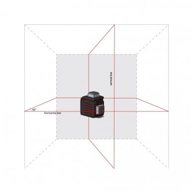 Lazerinis nivelyras Cube 2-360, ADA 3