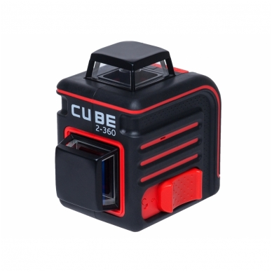 Lazerinis nivelyras Cube 2-360, ADA 2