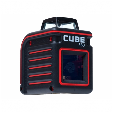 Lazerinis nivelyras Cube 360, ADA 4