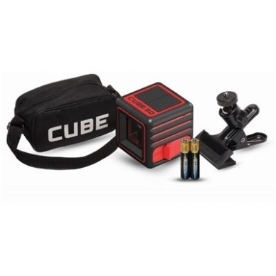 Lazerinis nivelyras Cube 3D, ADA 6