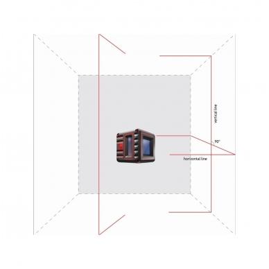 Lazerinis nivelyras Cube 3D, ADA 4