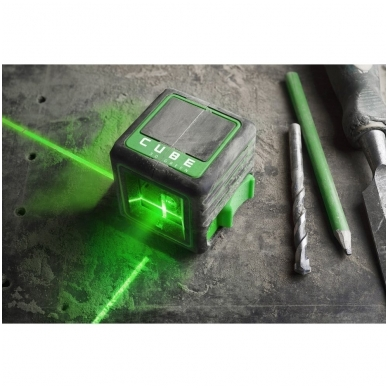 Lazerinis nivelyras Cube 3D Green, ADA Professional Edition 8