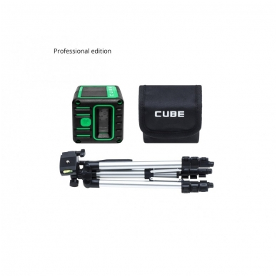 Lazerinis nivelyras Cube 3D Green, ADA Professional Edition 6