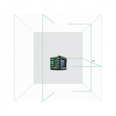 Lazerinis nivelyras Cube 3D Green, ADA Professional Edition 4