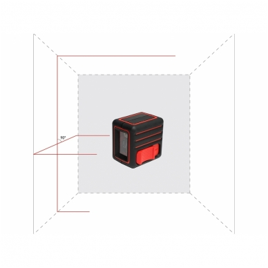Lazerinis nivelyras CUBE Mini 5