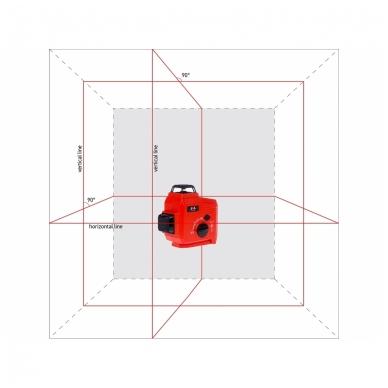 Lazerinis nivelyras TOPLINER 3x360° 7