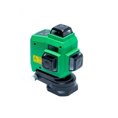 Lazerinis nivelyras TOPLINER 3x360° GREEN 2