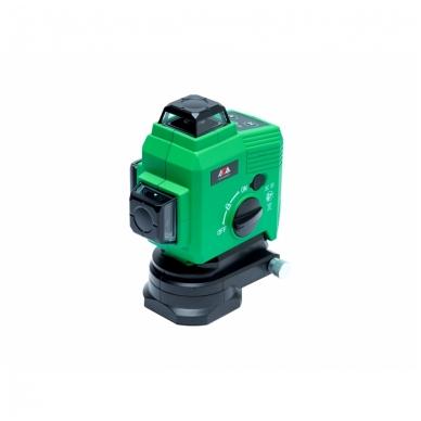 Lazerinis nivelyras TOPLINER 3x360° GREEN 3