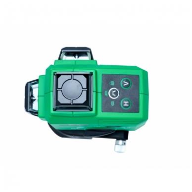 Lazerinis nivelyras TOPLINER 3x360° GREEN 4