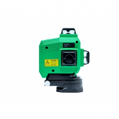 Lazerinis nivelyras TOPLINER 3x360° GREEN 5
