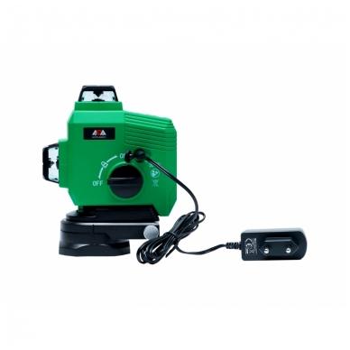 Lazerinis nivelyras TOPLINER 3x360° GREEN 6