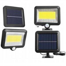LED Saulės lempa su judesio ir dulkių jutikliu
